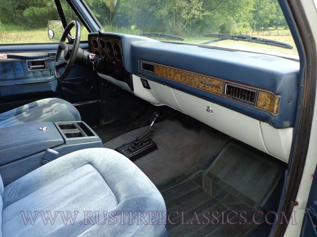 1989 89 Gmc Jimmy 4x4 K5 Blazer Silverado Sle White